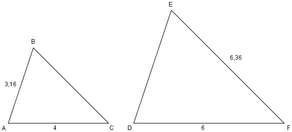 Ensvinklede trekanter 1