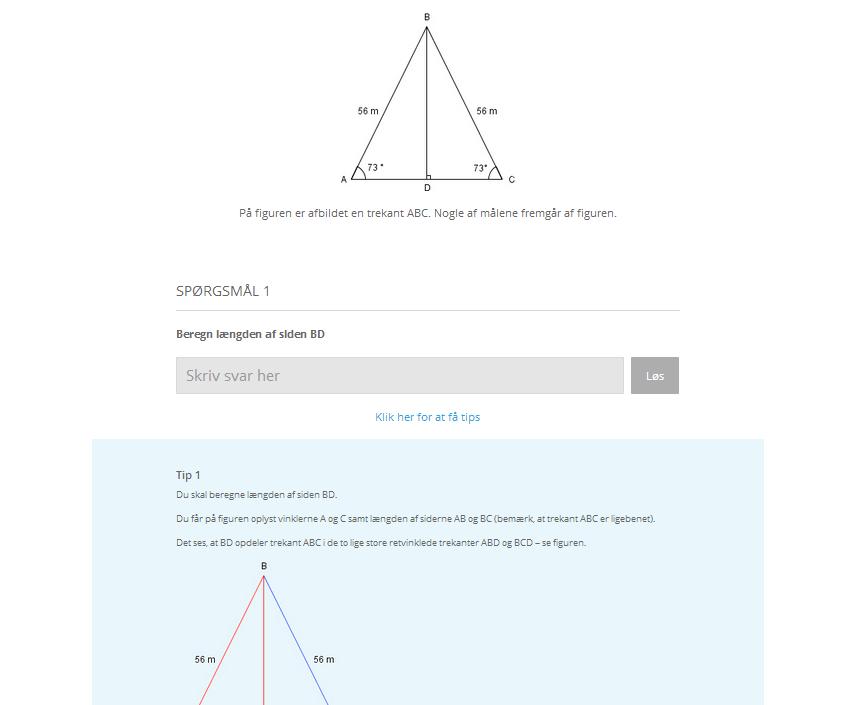 tips til geometri HF niveau c