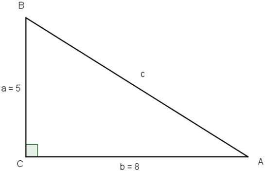 trekant beregner program