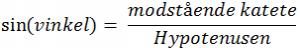 Retvinklet trekant 36 artikel