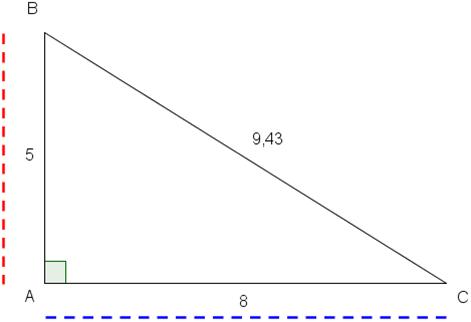 trekant med to menn Vinstra