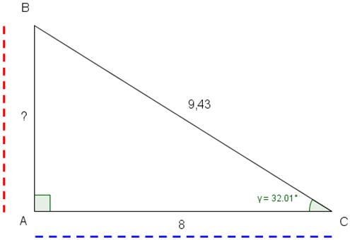 trekant med to menn Askim